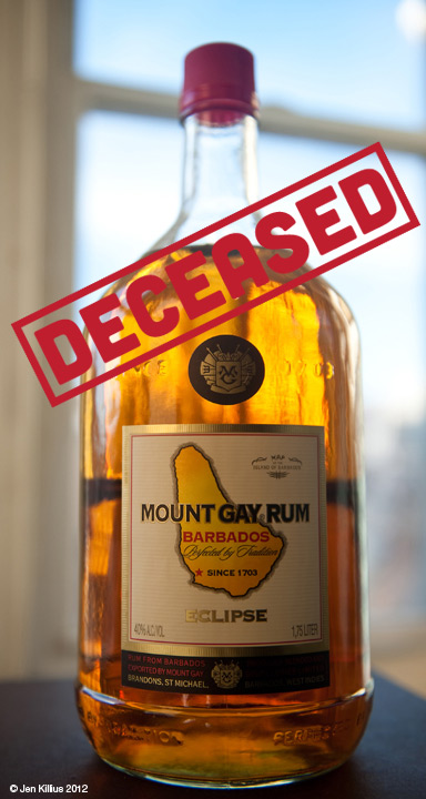 Mount Gay Gold Rum