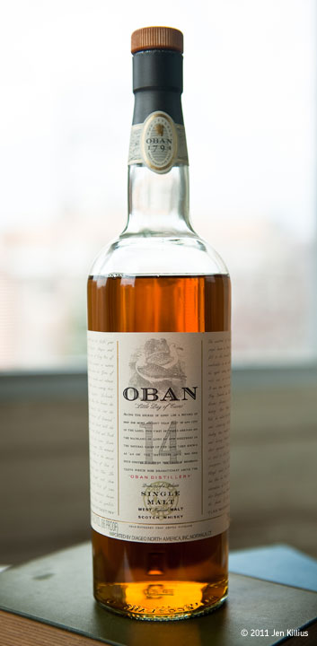 Oban 14 Year Single Malt Scotch