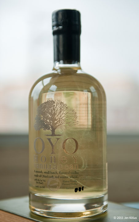 OYO Honey Vanilla Vodka