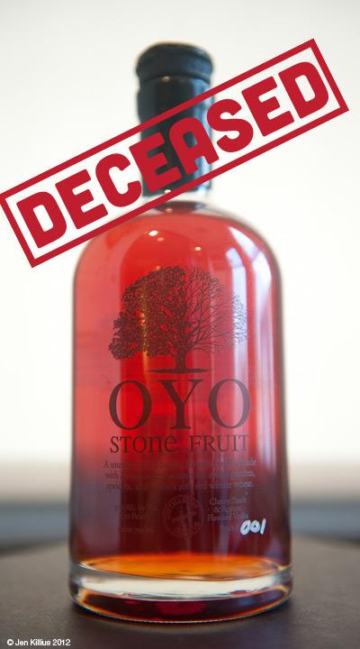 OYO Stonefruit Vodka