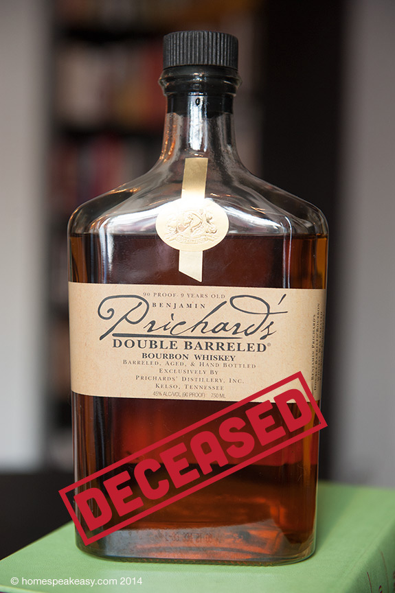 Pritchard's Double Barreled Bourbon