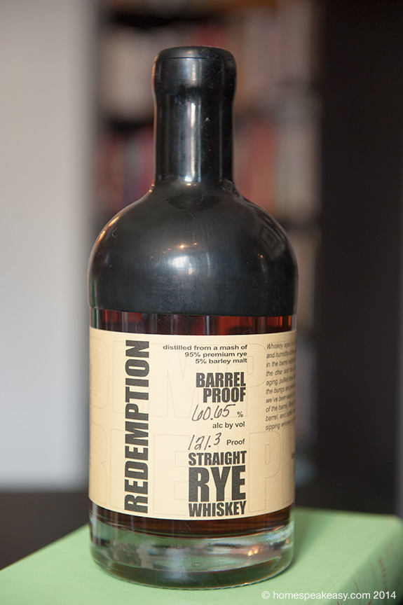 Redemption Rye - Barrel Proof