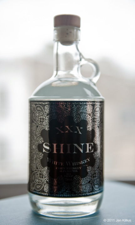 Shine XXX White Corn Whiskey