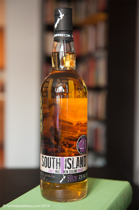 South Island Single Malt 21 Year Whisky