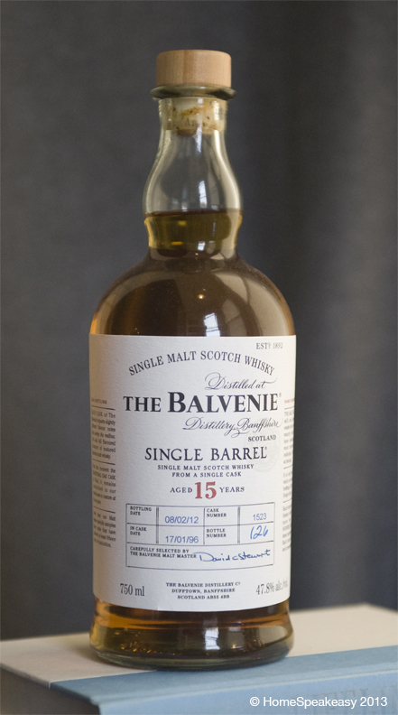 The Balvenie 15 Year Single Barrel Scotch