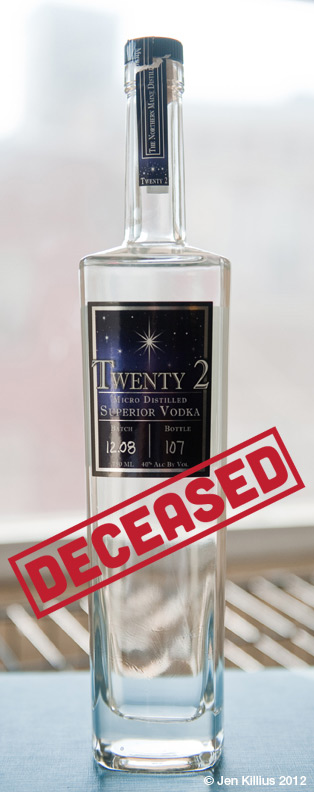 Twenty-2 Vodka
