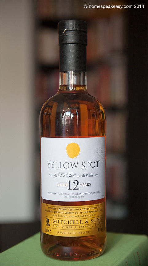 Yellow Spot 12 Year Irish Whiskey