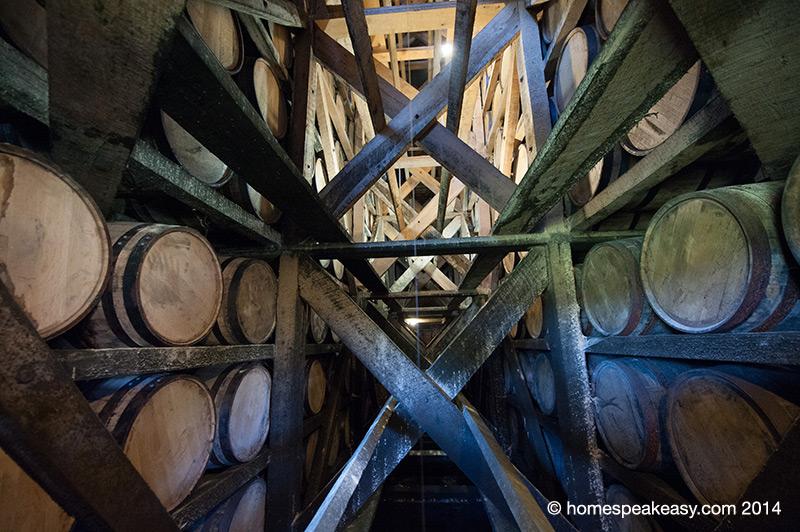 Heaven Hill Rickhouse Structure